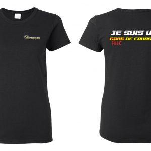 T-Shirt Fille de Courses